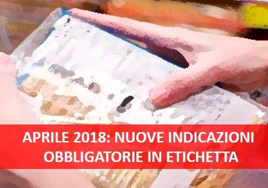 STABILIMENTO DI PRODUZIONE IN ETICHETTA: PIENO VIGORE AL DECRETO 145/17