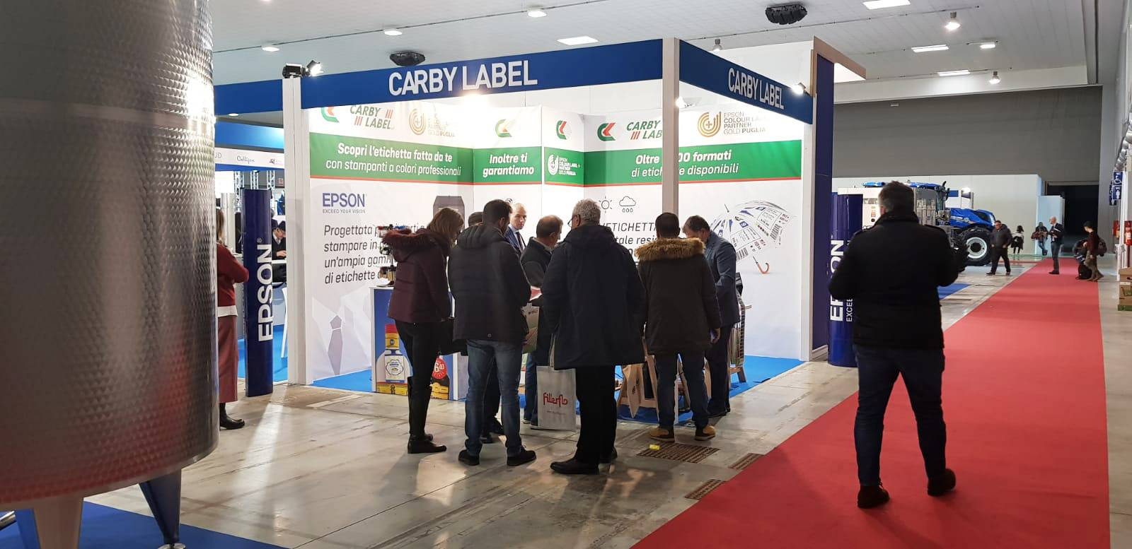 CARBY LABEL A ENOLIEXPO 2019