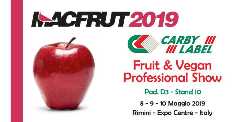 CARBY LABEL TRA I PROTAGONISTI DI MACFRUT 2019